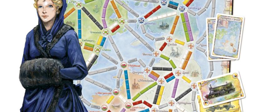 Les Aventuriers du Rail : l'histoire du rail anglais... et la gamme !