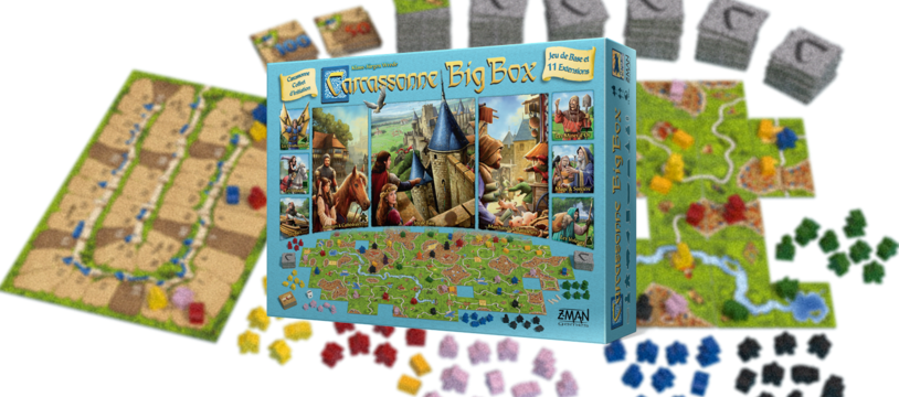 Carcassonne Big Box, un triple  cheese svp !