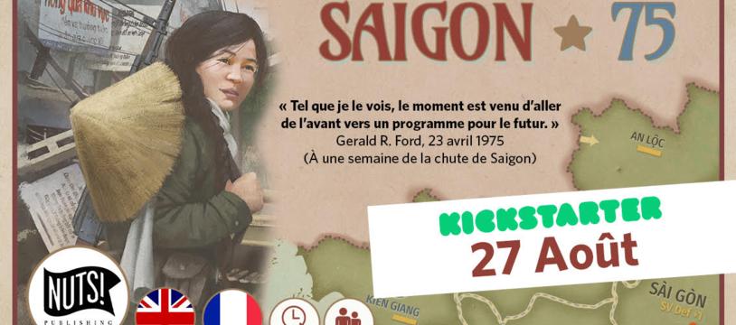 SAIGON 75 débarque sur Kickstarter