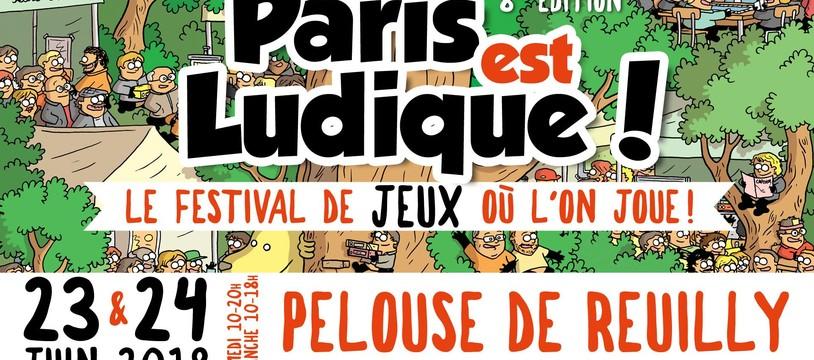 Programme Funforge à Paris est Ludique 2018