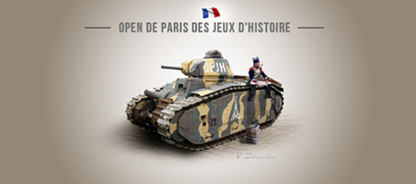 Days of Wonder et la Fédération Française de Mémoire 44 à l'Open de Paris des Jeux d'Histoire 2019