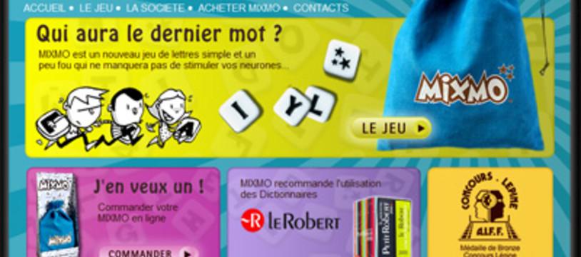 Mixmo, le jeu de lettres à fond aussi !