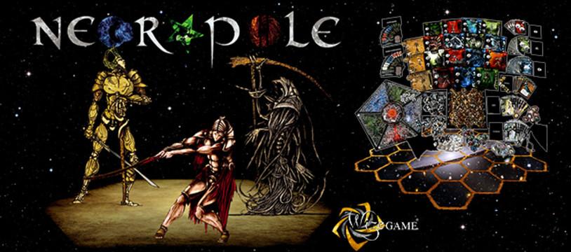 Découvrez Necropole, ses nouvelles règles, playmats et le futur jeu vidéo