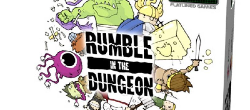 Rumble in the Dungeon, les petits meurtres entre aventuriers, est à Essen