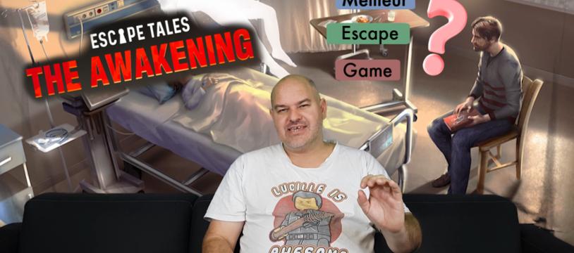 Escape Tales : The Awakening, le meilleur jeu d'escape game sur table ?