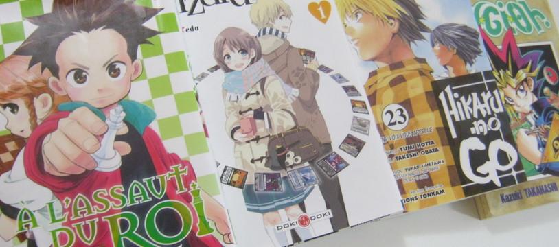 Ces mangas qui parlent de jeux de société