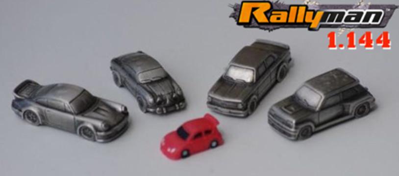 Rallyman 1.144, des voitures à peindre