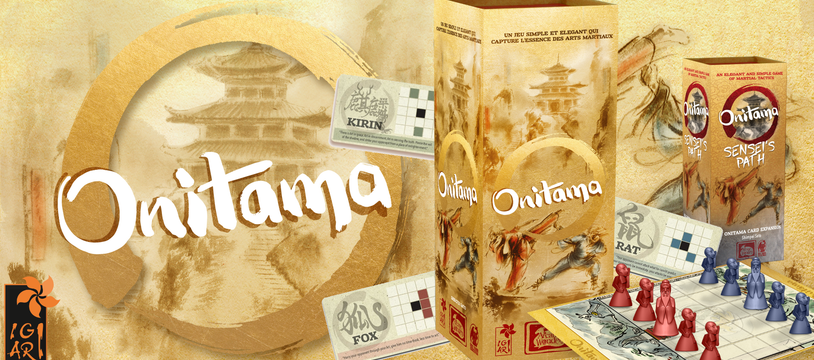 Aidez-nous pour Onitama Sensei's Path