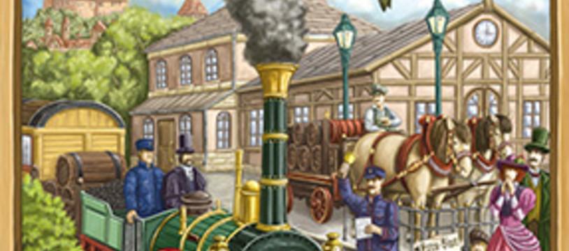 Premier train pour Nuremberg pour Wallace