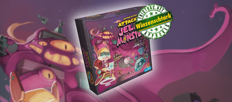Attack of The Jelly Monster : déconfiture de gelée spatiale