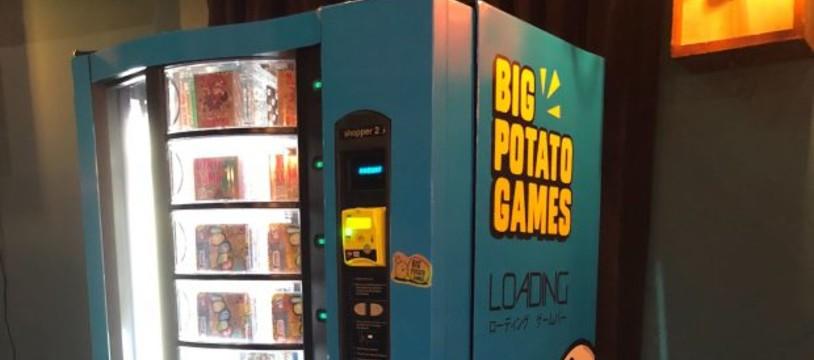 La machine qui vendait des jeux !