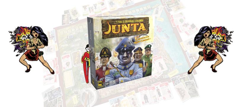Junta : Pousses la banane et mouds l'kawa !