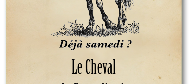 Le Cheval du Samedi Soir, encore un jeu gratoche