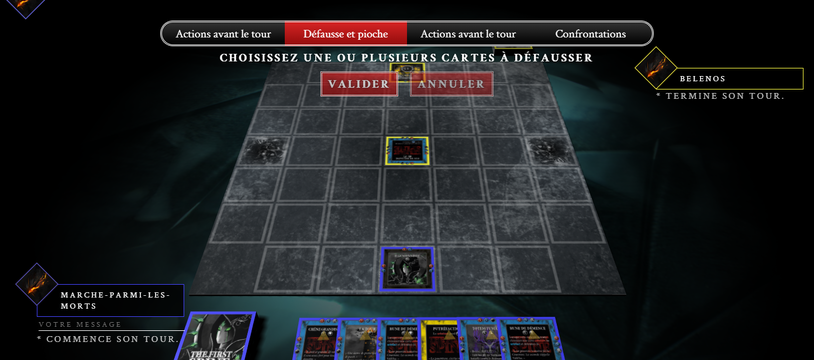 Arena : le pendant en ligne de The First Spine