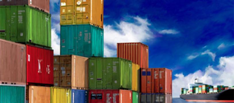 Container sur les étals