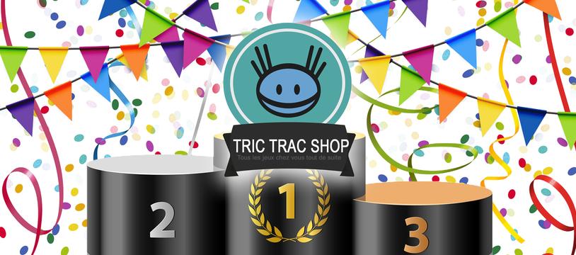 [Tric Trac Shop] Top Ventes 2018