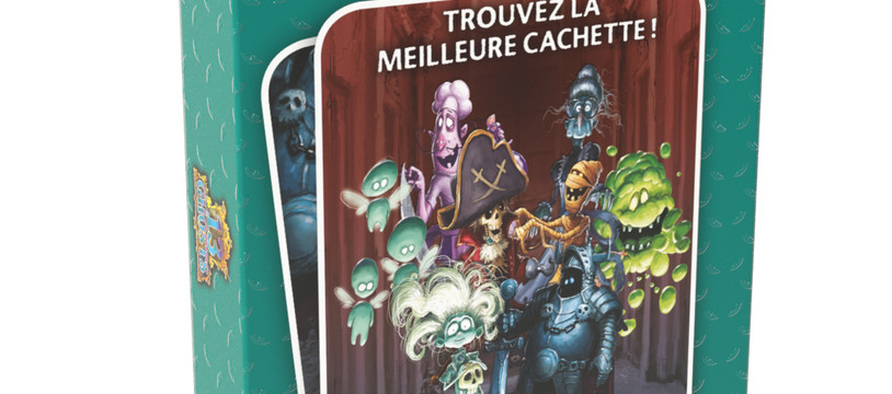 LA GAMME POCKET MINI SE RENFORCE AVEC 13 GHOSTS, LE MICRO GAME DE DÉDUCTION
