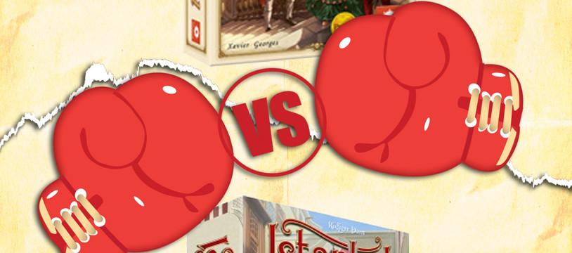 versus : Palais royal vs istanbul