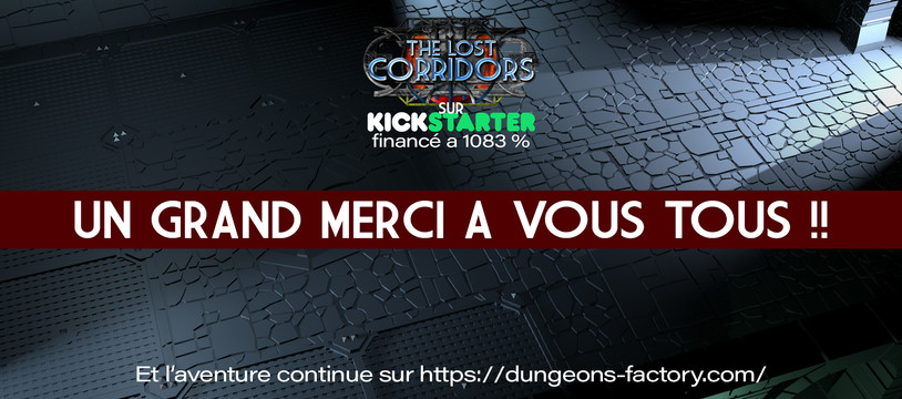 The lost corridors Kickstarter est financé
