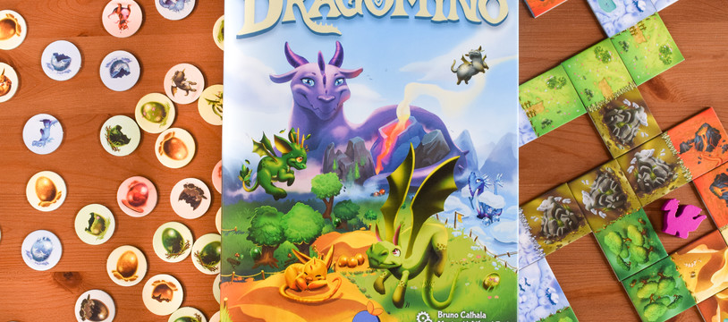 Dragomino : à la recherche des bébés dragons, qui sera le champion des explorateurs ?
