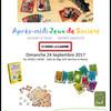 APRES MIDI JEUX de SOCIETE à Saint-Pierre-La-Garenne