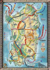 Les aventuriers du rail - Extension Sardaigne