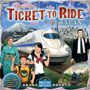 Les Aventuriers du Rail - Japon & Italie