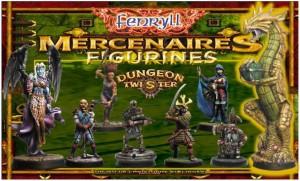 Dungeon Twister : Mercenaires (Figurines)