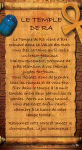 Unlock! Demo Adventures - Le Temple de Râ