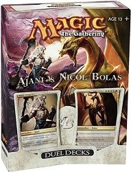 Magic the Gathering - Ajani vs. Nicol Bolas