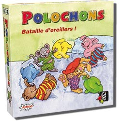 Polochons - Bataille d'oreillers !