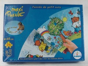 Maxi Puzzle - L'année de petit ours
