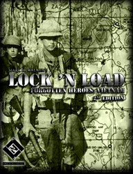 Lock'n Load Forgotten Heroes : Vietnam - 2nd Edition