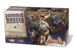 Zombicide black plague - Zombie Bosses - Abomination Pack