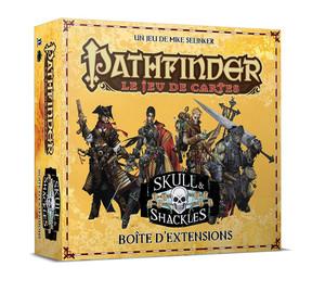 Pathfinder le jeu de cartes Skull & Shackles Boîte d'extensions