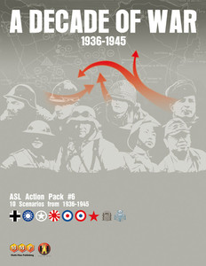 ASL Action Pack #6 : A Decade of War 1936-1945