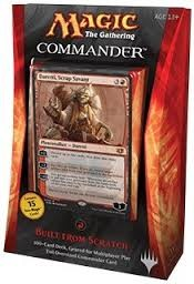 "Magic ""The Gathering"" ; Commander Deck rouge 2014"