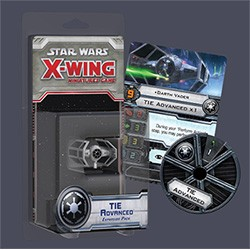 X-Wing : Jeu de Figurines - Chasseur TIE Advanced