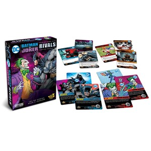 DC Comics Deck Building Game : Extension : RIVALS, BATMAN VS JOKER