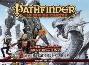 Pathfinder Jeu de cartes : L'Eveil des Seigneurs des runes -Les Péchés des sauveurs