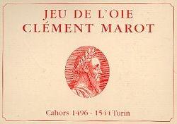 Jeu de l'oie de Clément Marot