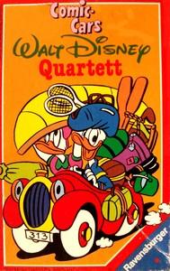 Comic-cars Walt Disney Quartett