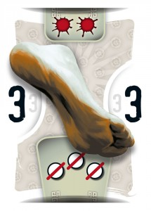 8 Masters' Revenge : carte pied