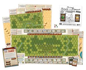 Mémoire 44 - Battle Maps : Dans la jungle et le désert