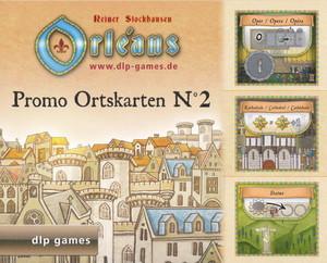 """Orléans - Extension """"Tuiles promotionnelles de Lieu - Promo Place Tiles - Promo Ortskarten n° 2"""""""