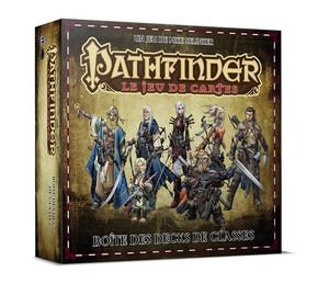 Pathfinder le jeu de cartes Boîte de decks de classe