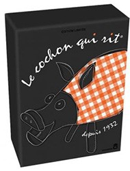 Le Cochon qui rit version collector 80 ans