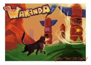 Wakanda : 3 little coyotes