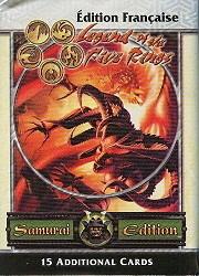 Legend of the Five Rings (JdC) : Édition Samurai