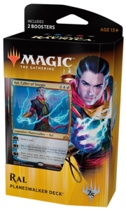 Magic : Les Guildes de Ravnica -  Planeswalker Ral Zarek